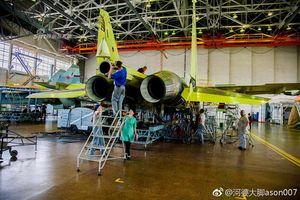 'Đột nhập' cơ sản xuất chiến đấu cơ Su-35S của Không quân Nga