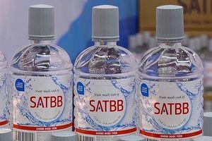 Nước muối sinh lý SAT BB không đạt tiêu chuẩn chất lượng