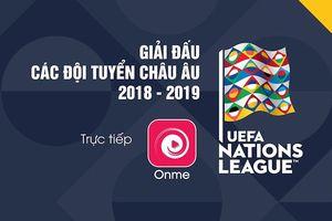 Từ tháng 9/2018, tất cả các trận đấu của đội tuyển châu Âu có mặt trên VTVcab