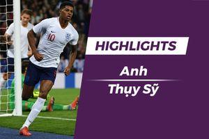 Highlights ĐT Anh vs ĐT Thụy Sĩ: Sao trẻ MU tỏa sáng