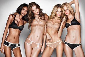 Người mẫu Victoria's Secret đốt mỡ cấp tốc để diễn nội y