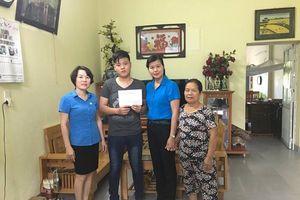 LĐLĐ tỉnh Bắc Giang: Trao lãi suất tiết kiệm cho con công nhân lao động có hoàn cảnh khó khăn