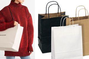 Túi hàng hiệu như túi giấy shopping, giá 'cắt cổ'