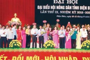 Đại hội Hội ND Điện Biên: Phát triển kinh tế gắn với giữ gìn bản sắc văn hóa