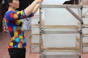 Có vốn vay trong tay, nghề làm bánh đa nem Yên Phụ 'phất lên'