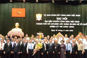 Linh mục Phan Khắc Từ tái đắc cử Chủ tịch Ủy ban Đoàn kết Công giáo Việt Nam TP HCM
