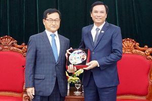 Lãnh đạo thành phố Đà Nẵng tiếp các đoàn khách đến từ Hàn Quốc