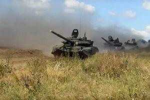 Rầm rập binh sĩ Nga tham gia tập trận lớn nhất kể từ sau Chiến tranh Lạnh