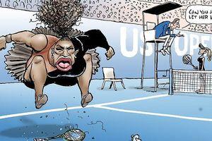 Họa sĩ Úc bị chỉ trích gay gắt vì vẽ tranh biếm họa về Serena Williams