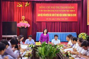 Huyện Sóc Sơn, Hà Nội xây dựng nông thôn mới bền vững