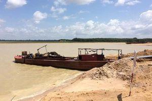 Sẽ xử lý hình sự nạn 'cát tặc' trên hồ Dầu Tiếng