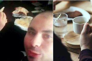Bị bắt vì... ăn sáng cùng nữ đồng nghiệp