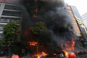 Y án 9 năm tù nữ chủ quán karaoke bị cháy khiến 13 người chết