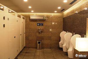 Vận động nhà hàng, khách sạn... cho du khách dùng miễn phí nhà vệ sinh