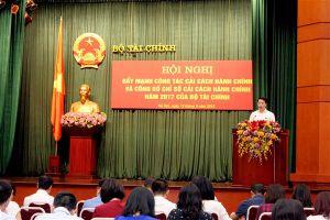Bộ Tài chính: Tinh gọn hàng trăm đầu mối để cải cách hành chính