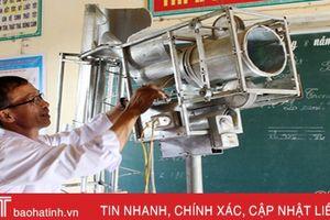 Sáng chế ghi danh 'Sách vàng sáng tạo Việt Nam' của thầy giáo làng Hà Tĩnh