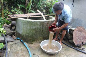 Nước ngầm ở Hà Nội kêu cứu