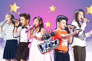 Điểm mặt các 'gà nhí' khiến 6 HLV tranh đấu tại tập 1 vòng Giấu mặt The Voice Kids 2018