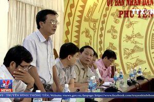 Cam kết đền bù cho các hộ dân bị thiệt hại do thi công QL 1
