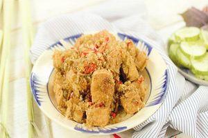 Nấu ngay đậu phụ chiên sả ớt, món ăn thanh đạm cho cả gia đình