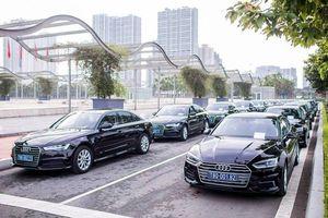 Audi Việt Nam mang dàn xe trăm tỷ phục vụ diễn đàn WEF ASEAN 2018