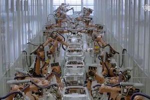 Công nghệ 4.0: Sản xuất 1 ô tô chỉ mất 50 giây