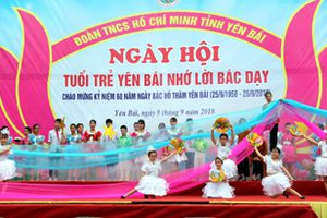 Nhiều hoạt động kỷ niệm 60 năm Ngày Bác Hồ thăm Yên Bái