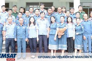 Phó Viện trưởng VKSND tối cao Trần Công Phàn khai giảng Lớp bồi dưỡng nghiệp vụ cho cán bộ VKSND Lào