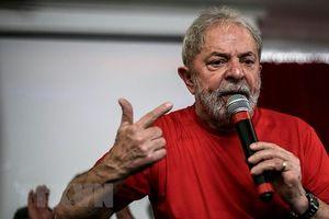 Cựu Tổng thống Brazil Lula da Silva rút lui tranh cử tổng thống