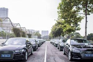 Audi tài trợ xe cho Diễn đàn Kinh tế Thế giới về ASEAN