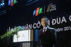 Quyền Bộ trưởng TT&TT Nguyễn Mạnh Hùng: 'Nhiều doanh nghiệp thành công hơn FPT nhưng không có được 30 năm'