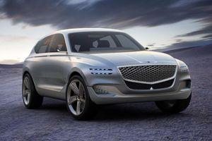 Genesis Hàn Quốc sẽ bán dòng SUV cạnh tranh Mercedes GLE và BMW X5