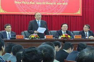 Thủ tướng Nguyễn Xuân Phúc thăm và làm việc tại tỉnh Thừa Thiên Huế