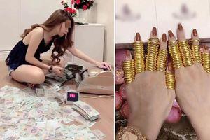 Cuộc sống ngập trong tiền, vàng của cô gái đập lợn tiền tỷ