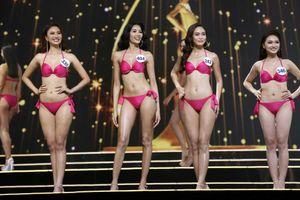 Nhìn lại top 15 Hoa hậu Hoàn vũ Việt Nam 2017 qua trang phục bikini nóng bỏng