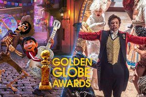 Quả Cầu Vàng 2018: 'Coco' là phim hoạt hình hay nhất, 'The Greatest Showman' ẵm giải ca khúc