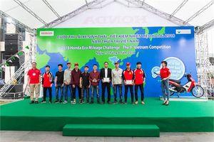 Đại học Công nghiệp Hà Nội đứng thứ 6/480 đội tham dự cuộc thi Honda EMC tổ chức tại Nhật Bản