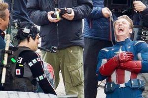 Lộ ảnh hậu trường The Avengers 4, Captain America 'tỏa sáng'