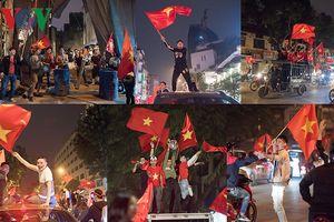 Muôn kiểu ăn mừng U23 Việt Nam chiến thắng của người Hà Nội
