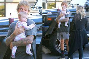 Justin Bieber chuẩn bị có thêm em gái mới từ mẹ kế