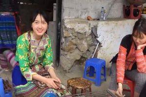 Hot girl dân tộc bán cơm lam gây bão mạng nhờ nhan sắc 'cực phẩm'