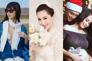 Năm Mậu Tuất, nhiều em bé của mỹ nhân Việt ra đời