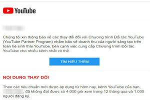 Cộng đồng YouTube Việt lao đao khi luật mới được ban hành