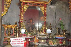 Độc đáo bức tượng nhục thân lưu giữ tại Chùa Đậu