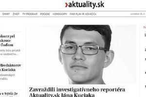 Slovakia: Phóng viên điều tra tham nhũng bị giết hại ngay tại nhà riêng