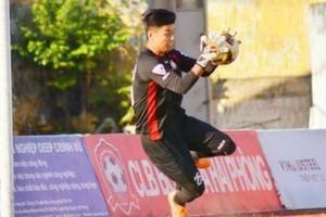 SLNA tìm được thủ môn thay Trần Nguyên Mạnh