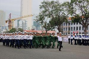 Hoành tráng lễ ra quân huấn luyện của Học viện Hải quân Việt Nam