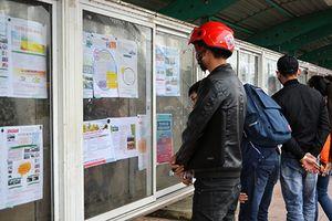 Các doanh nghiệp tuyển dụng lao động rầm rộ sau Tết