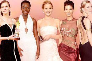 Chiêm ngưỡng 10 bộ váy đẹp nhất trong lịch sử lễ trao giải Oscar