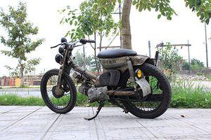 'Soi' Honda Cub 81 đồng nát, siêu độc của thầy giáo Hà Nội